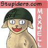 Maxwell the Army cat.